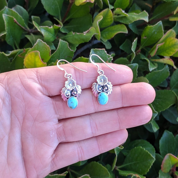 The Turquoise Divas Earrings
