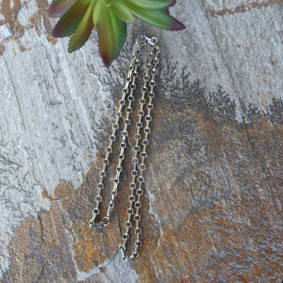 The Monterey Vintage Sterling Silver Chain