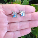 The Grande Unicorn Vintage Earrings