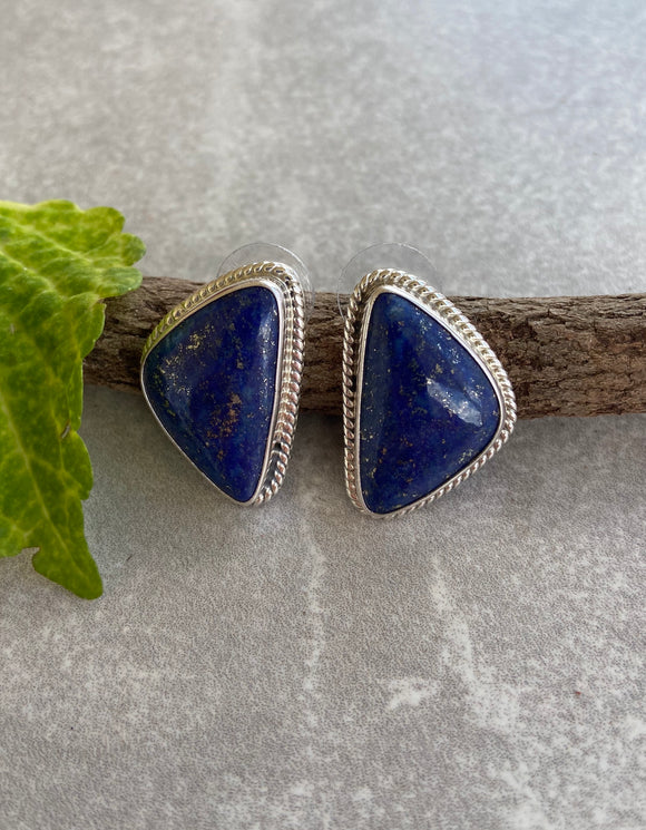 The Seana Lapis Earrings
