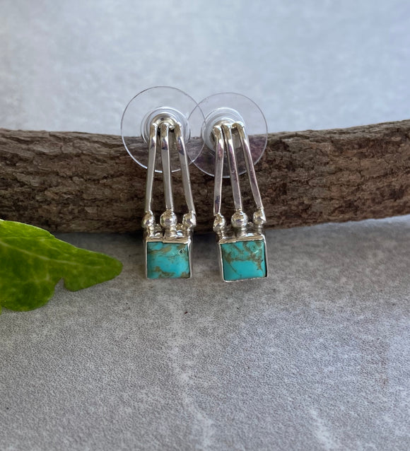 The Las Nutrias Turquoise Earrings