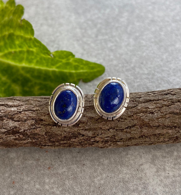 The Estancia Lapis Earrings