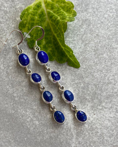 The Bluewater Lapis Earrings
