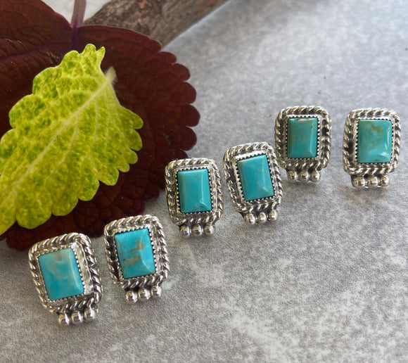 The La Plata Turquoise Earrings