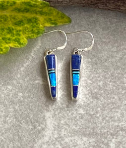 The Los Ranchos Winds of Wisdom Inlaid Earrings