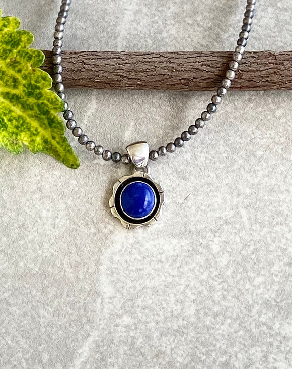 The Cadiz Lapis Pendant