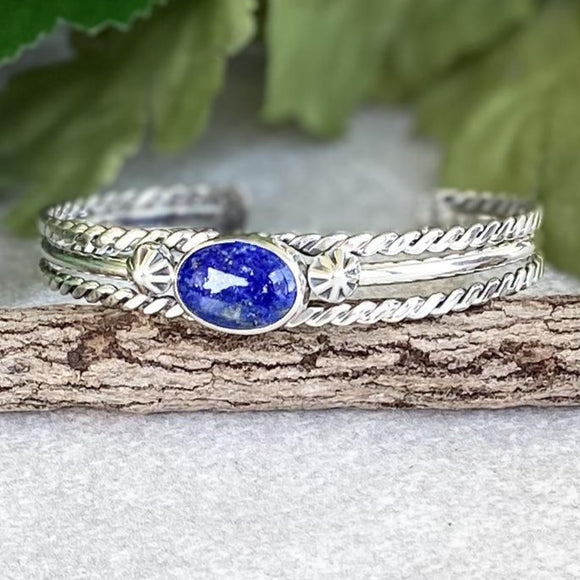 The Red Bluff Lapis Bracelet