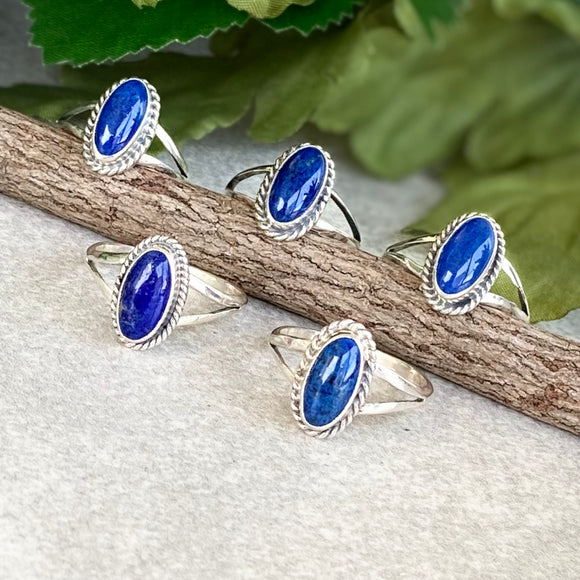 The Rodeo Lapis Ring