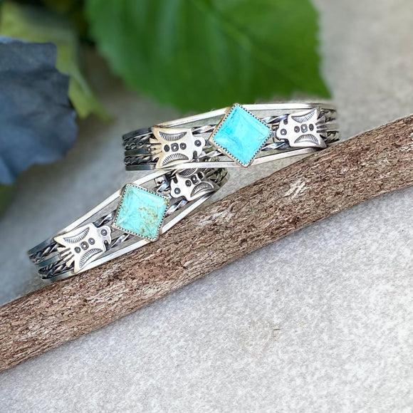 The Three Rivers Turquoise Bracelet