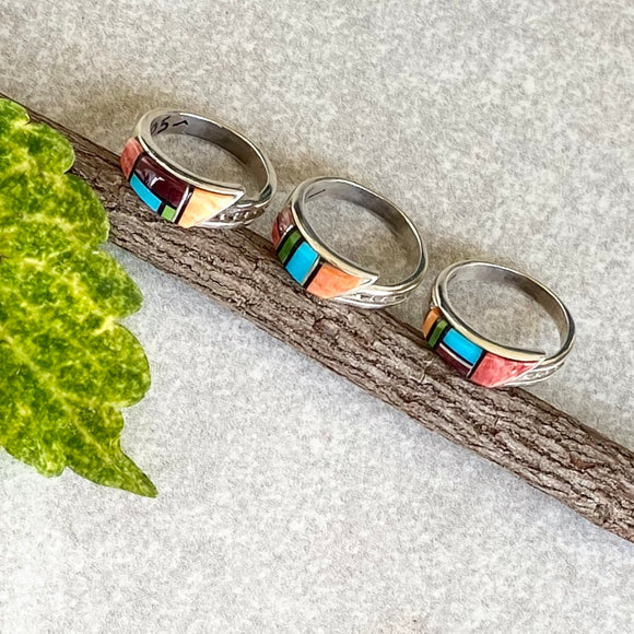 The Strauss New Mexico Sunset Ring