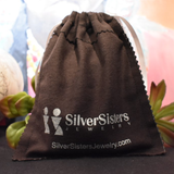 The Silver Cloth Jewelry Pouch