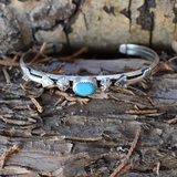 The Arrows of Protection Turquoise Bracelet