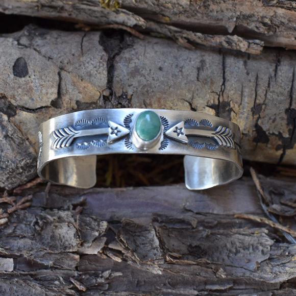 The Arrow Turquoise Bracelet
