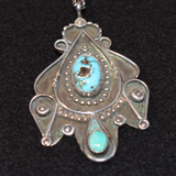 The Vista Vintage Turquoise Necklace