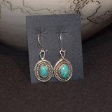The Vega Turquoise Vintage Earrings