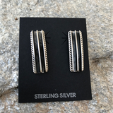 The Railway Sterling Silver Earrings