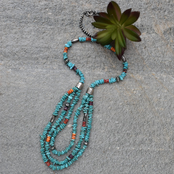 The Royal Beauty Turquoise Necklace (30