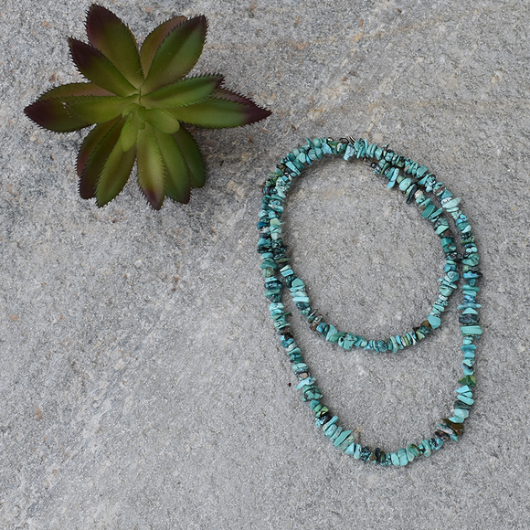 The Tijeras Turquoise Necklace (22