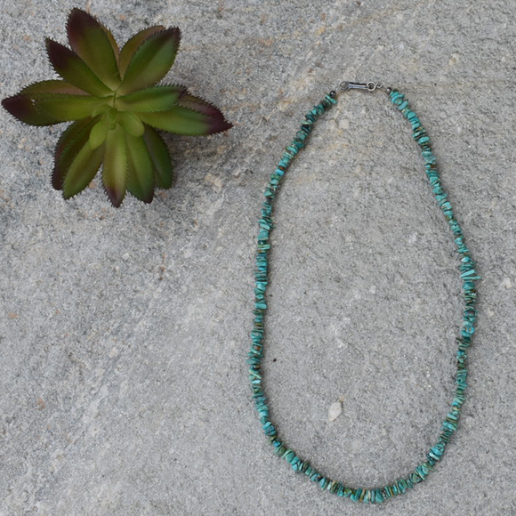 "The Raton Turquoise Necklace (18"")"