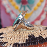 The Silver Sagebrush Turquoise Ring