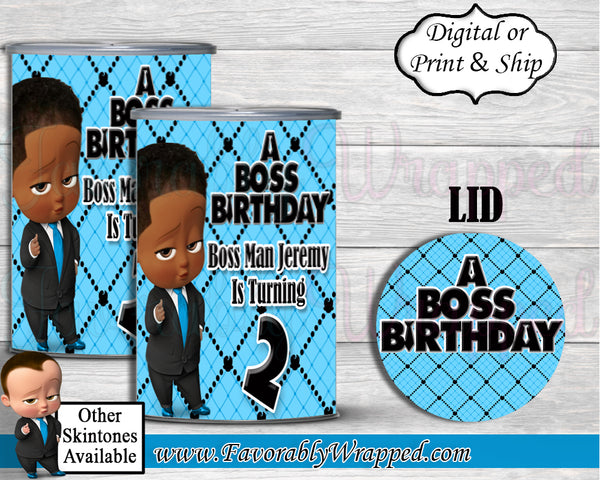 Boss Baby Boy Pringles Can Labels-Boss Baby Birthday-Boss Baby Party-Pringles Can Labels-Boss Baby Baby Shower-Boss Baby Party Favors