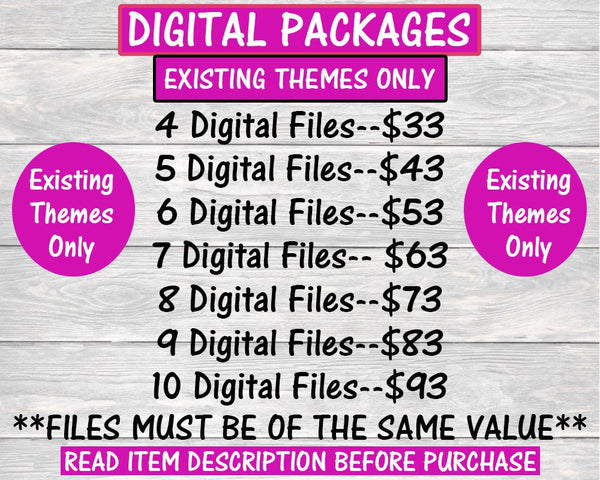 Digital Packages-Custom Digital Package-Chip Bag-Rice Krispie Treat-Capri Sun-Water Label-Candy Wrapper-You Print Only-Digital Printables