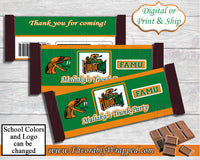 Trunk Party Hershey Bar Wrappers-Graduation Party Hershey Wrapper-School Party-Back To School Hershey Bar-Back To School-Trunk Party
