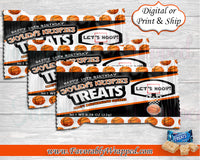 Basketball Rice Krispies Wrapper-Basketball Rice Krispies Wrapper-Basketball Birthday-Basketball Party-Basketball-Basketball Baby Shower