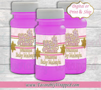 Baby Its Cold Outside Bubble Label-Baby Its Cold Outside Baby Shower-Snowflake Bubble Label-Snowflake Bubble Label-Baby Its Cold Outside