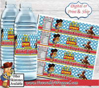 It's a Girl Story Baby Shower Water Bottle Labels-Toy Story Water Label-Toy Story Baby Shower-Water Labels-Baby Shower-It's a Boy-Its a Girl