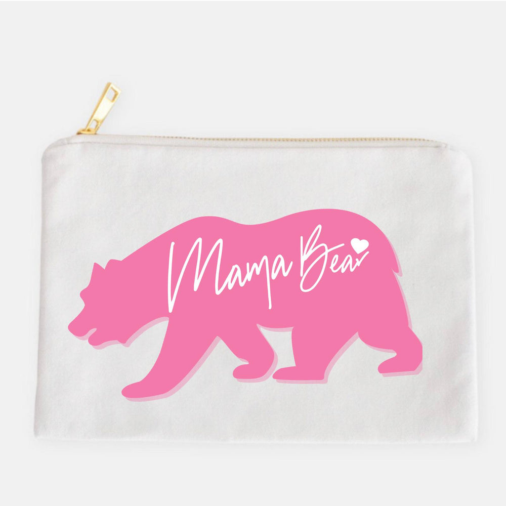 Mama Bear Cosmetic Bag