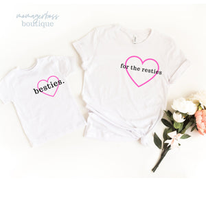 Bestie Shirt Mommy and Me Set