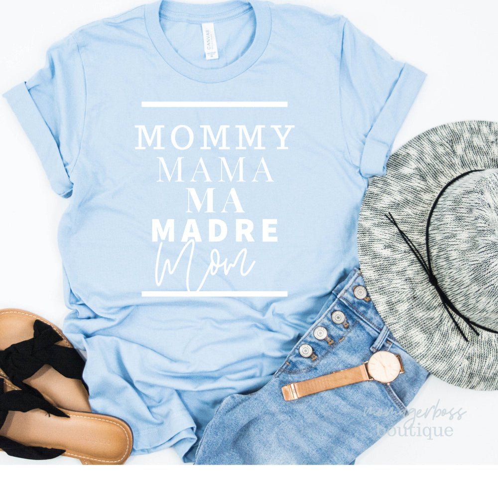 Mommy Mama Ma Madre Mom | Momlife svg | Gifts for mom