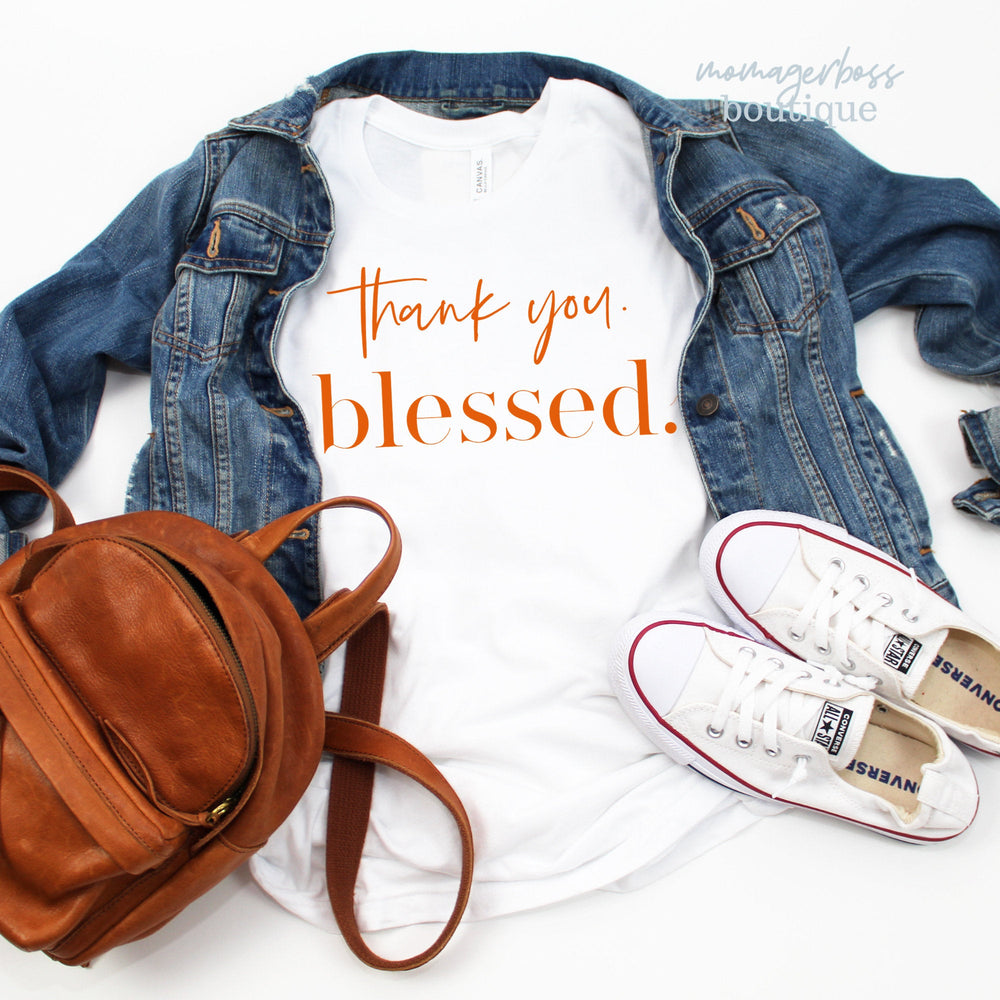 Fall Shirt | Blessed T Shirt | Blessed Sweatshirt | Fall SVG | Mom SVG | Thankful SVG