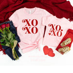 XOXO, Valentine's Day Shirt, Mommy and Me Matching Outfits, Girl and Mom Shirt, All You Need Is Love