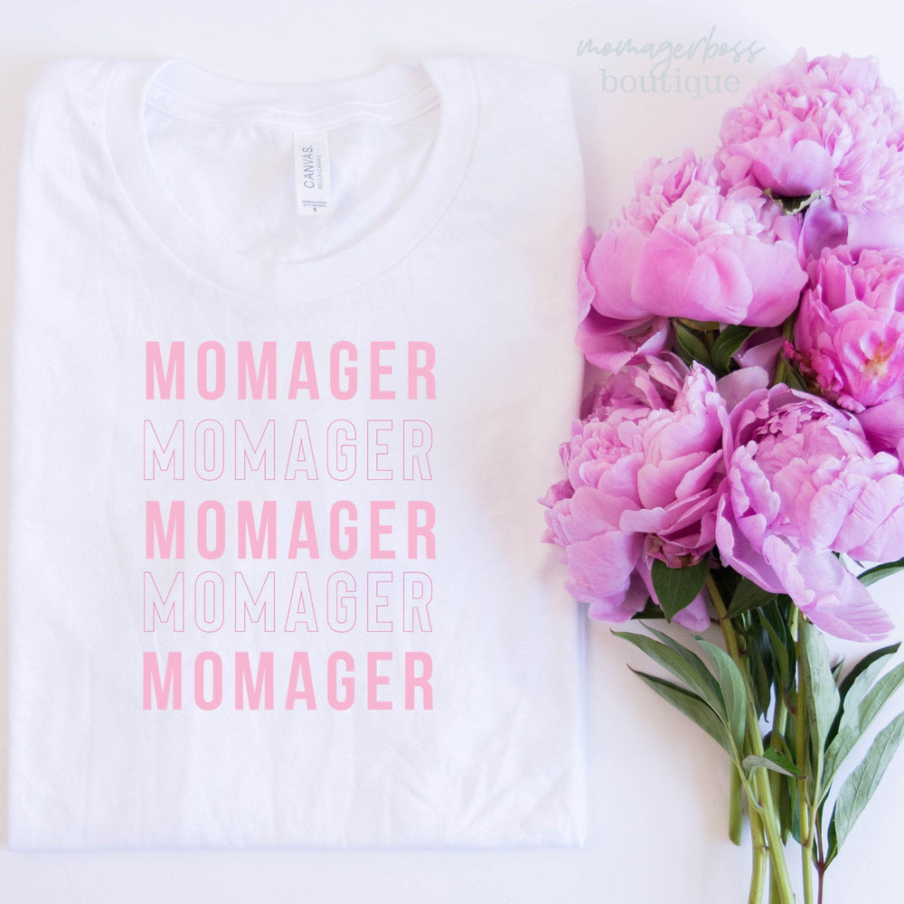 Momager Shirt, Funny Mom Shirt, Momlife Shirt, Dance Mom Tshirt, Cheer Mom Shirt, Shirts for Moms, New Mom, Momma Shirt, Mom Shirt