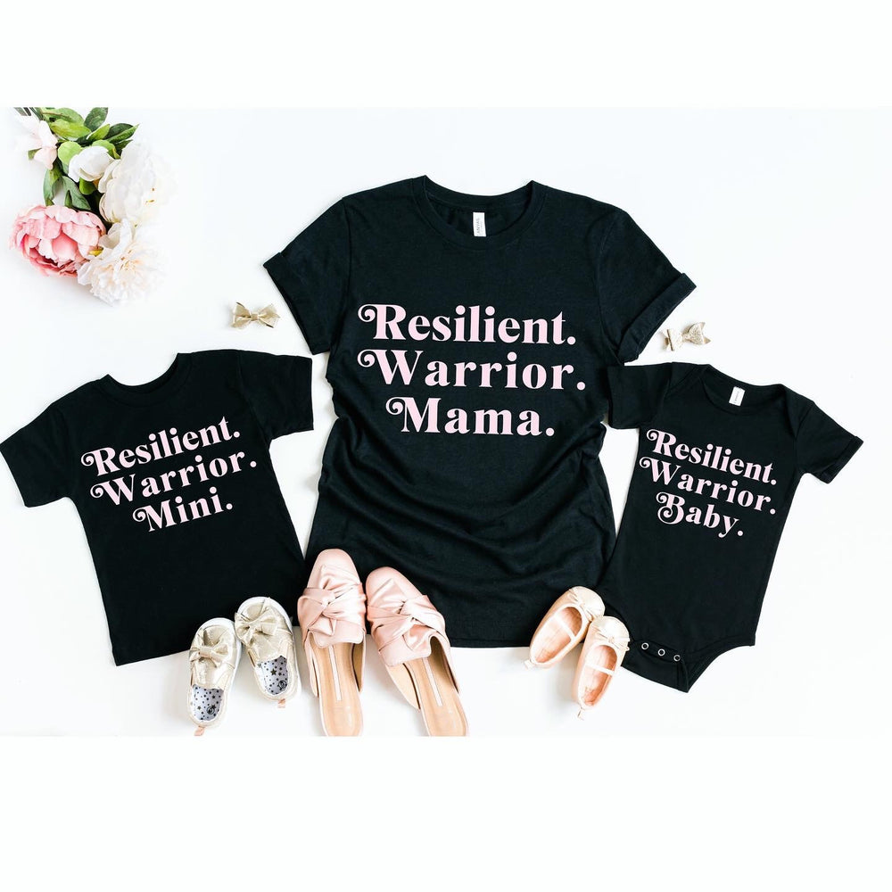 Resilient Shirt, Mom Life Shirt, Motivational Shirt, Mom Shirt With Sayings, Gift For Her, Mom Gift, Mommy and Me Outfit, Trendy Shirt