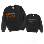 Pumpkin Spice, Everything Nice Mommy and Me Set