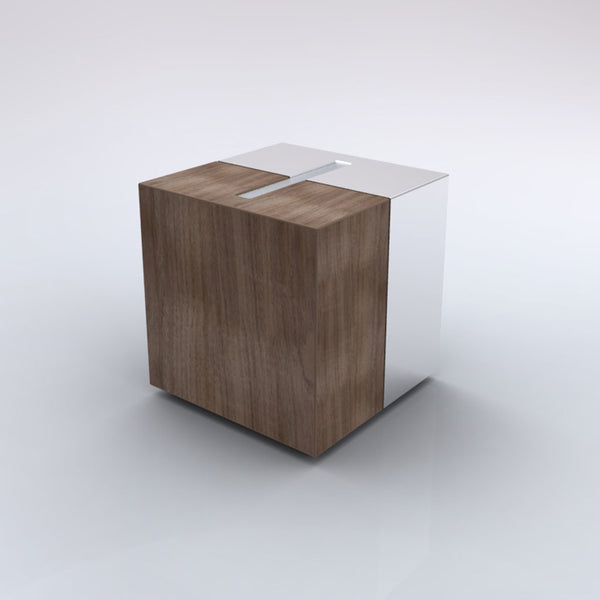Modern Design Wood Cremation Urn