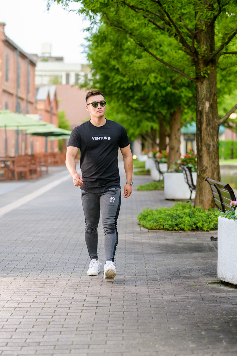 VENTURA STANDARD FIT T-SHIRT2-BLACK