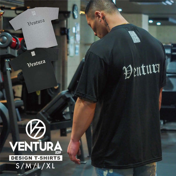 "VENTURA BIG T-SIRT ""WIDE BODY""-BLACK"