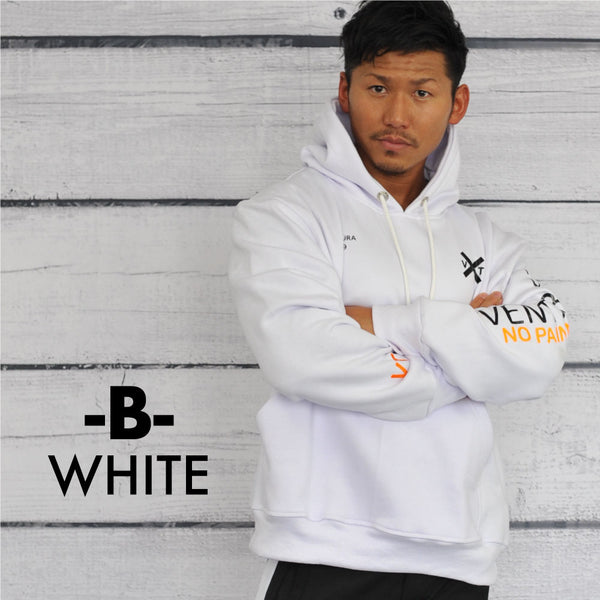 VENTURA529  SWEAT PULLOVER WHITE