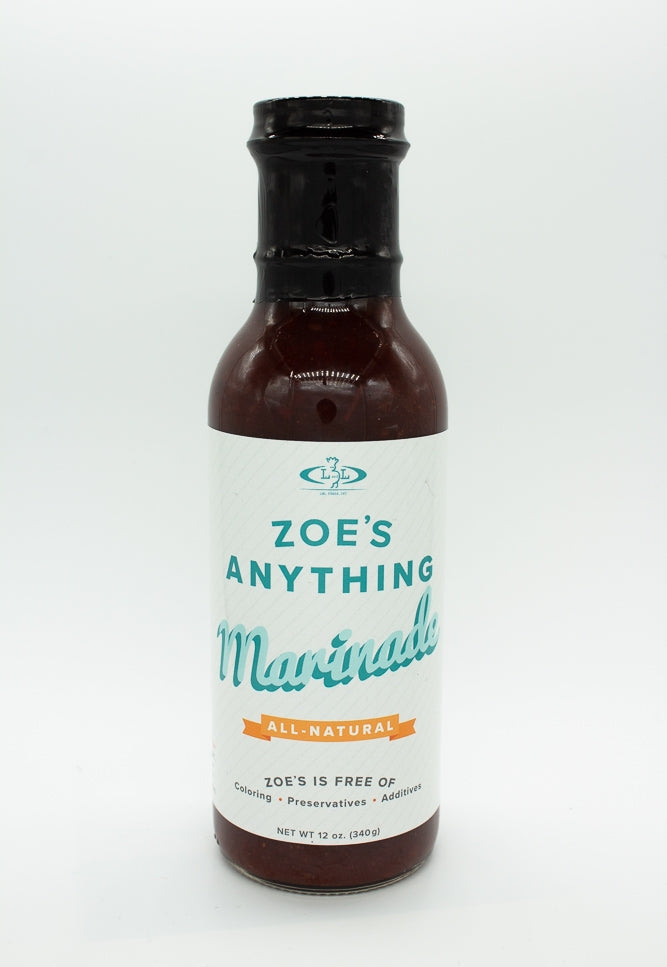 12 oz. - Zoe's Anything Marinade