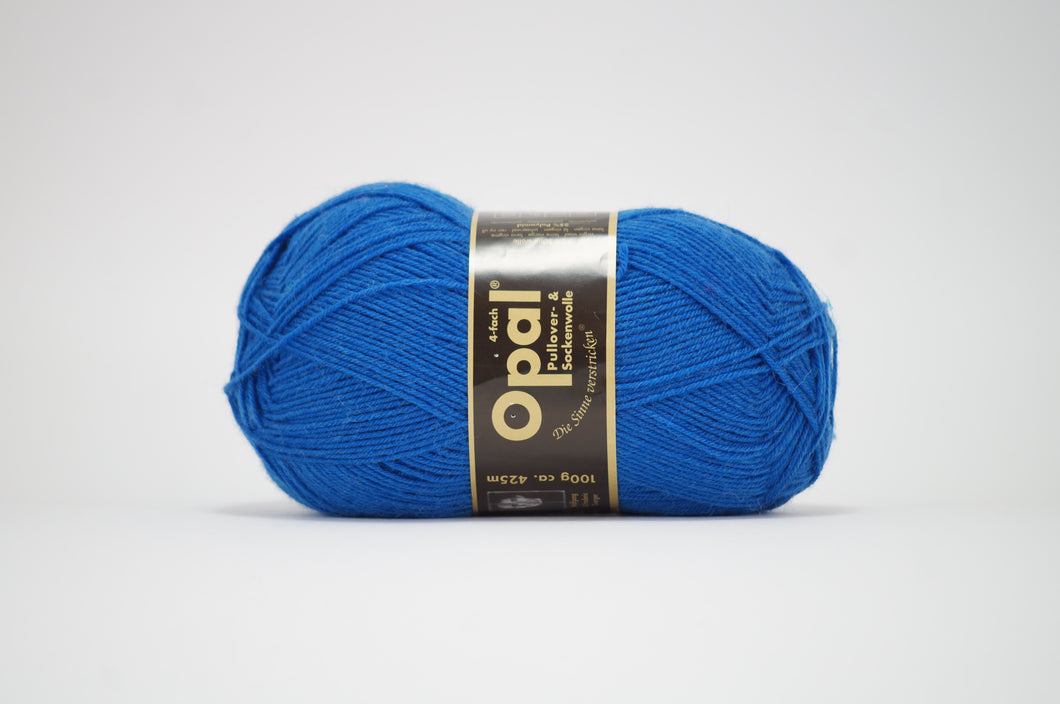 Opal 4ply solid colour .5188 Marine Blue