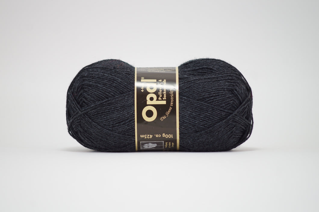 Opal 4ply solid colour .5191 Dark Grey