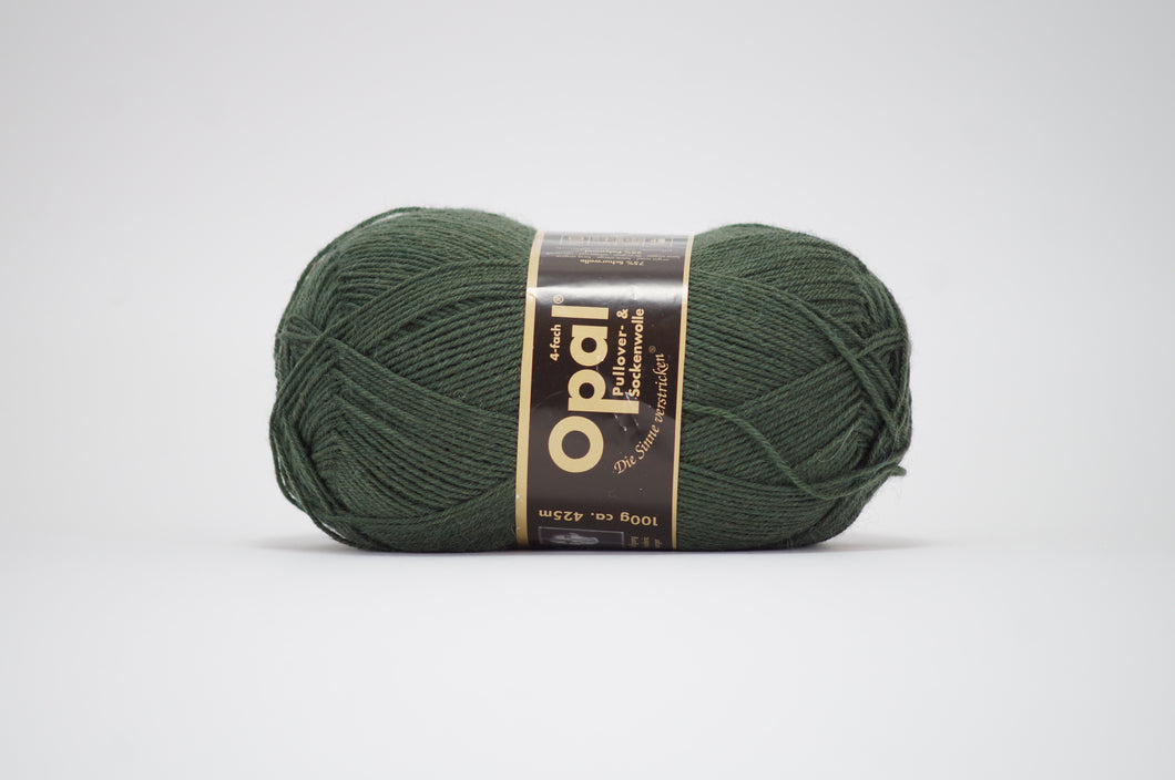 Opal 4ply solid colour .5184 Green