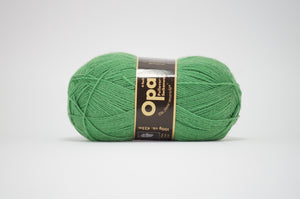 Opal 4ply solid colour.1990 Emerald Green
