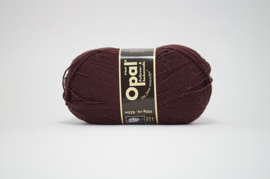 Opal 4ply solid colour .5192 Brown