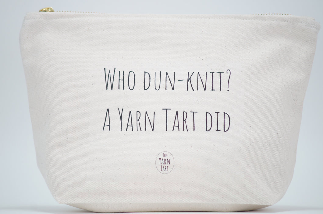 Who dun knit? The Yarn Tart did.