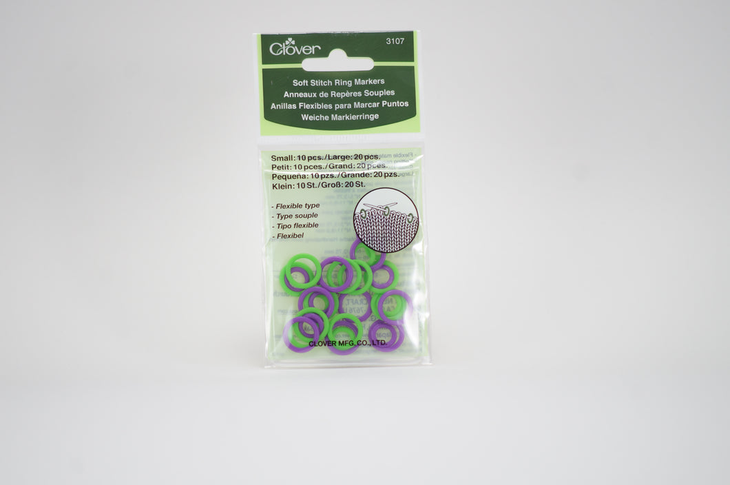 Clover Soft Stitch Ring Markers